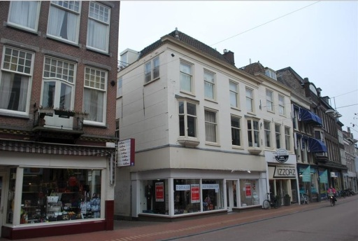Breestraat 122-124 in Leiden.