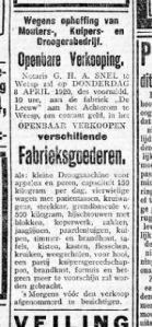 GE 31 03 1920 De Leeuw opgeheven kuipersfabriek